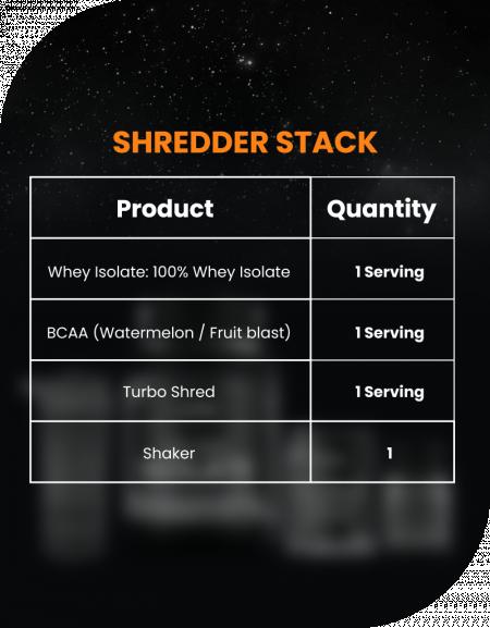 Shredder Stack