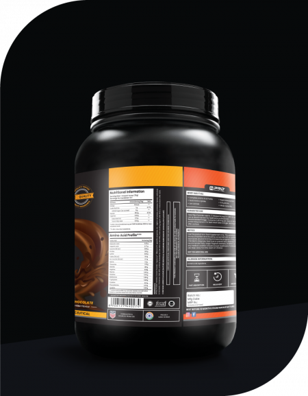 WHEY ISOLATE: 100% WHEY PROTEIN ISOLATE WITH DIGEZYME